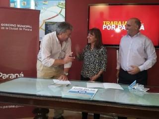 FIRMA DE CONVENIO DE COMERCIALIZACION CON LA RED COM.PR.AR