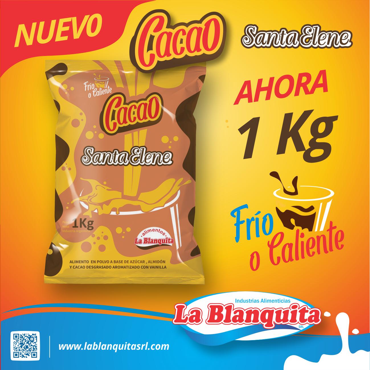 NUEVO CACAO DE 1 KG